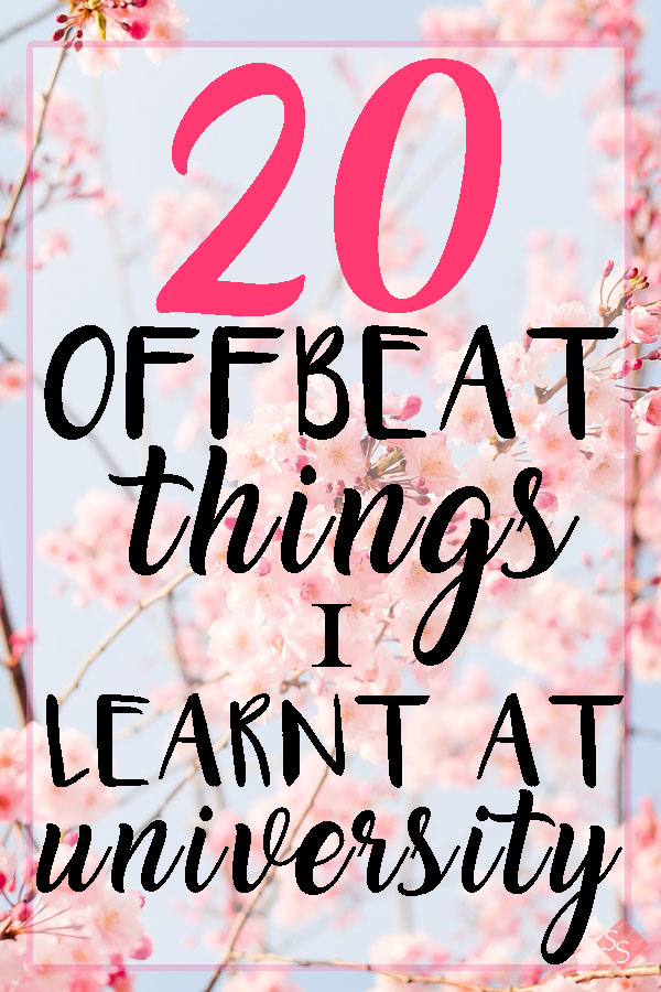 20 offbeat things