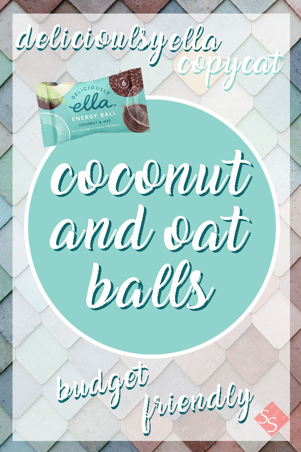 Coconut and oat balls